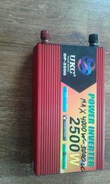 Преобразователь з 12v-220v-2500w-5000w