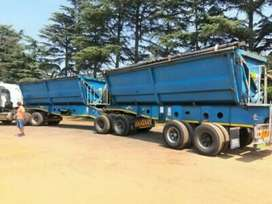 34 TON SIDE TIPPER TRUCKS FOR HIRE IN SOUTH AFRICA .LOW PRICES