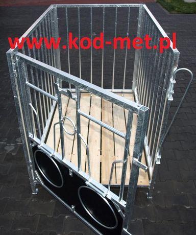 Kojec dla cieląt, kojce, boksy, klatki KZP 1/1,5 wygrodzenia dla bydła Miedzna - image 1