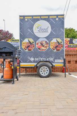 High quality, custom made mobile kitchen /food trailer