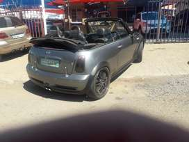 Mini cooper s supercharged convertible electronic