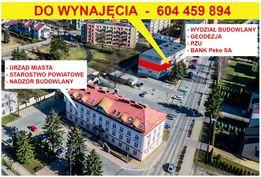 Powierzchnia biurowa do wynajęcia- jedyna taka LOKALIZACJA w Janowie