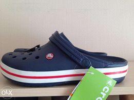 Crocs Crocband кроксы крокбенд синие