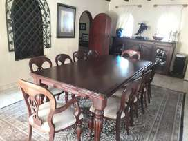 Wetherleys dining table and chairs