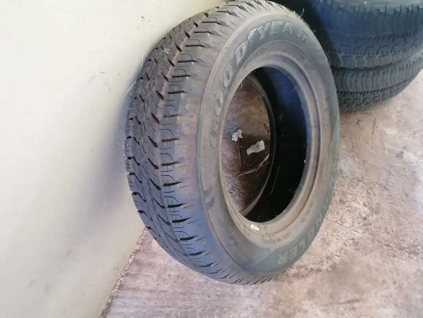 17 inch suv/bakkie tyres for sale (R1200 price for all 3) 0