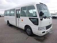 Just arrived very clean Toyota coaster bus on sale 0