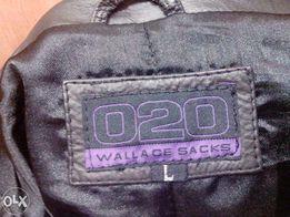 Кожаную куртку-пиджак мужской размер L