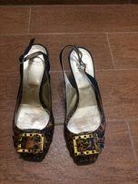 Босоножки Vero Cuoio, кожа, 40 размер