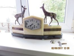 Zegar francuski Art Deco z 1900roku
