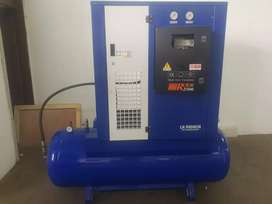 500 Litre Screw Air Compressor. Incomplete air dryer