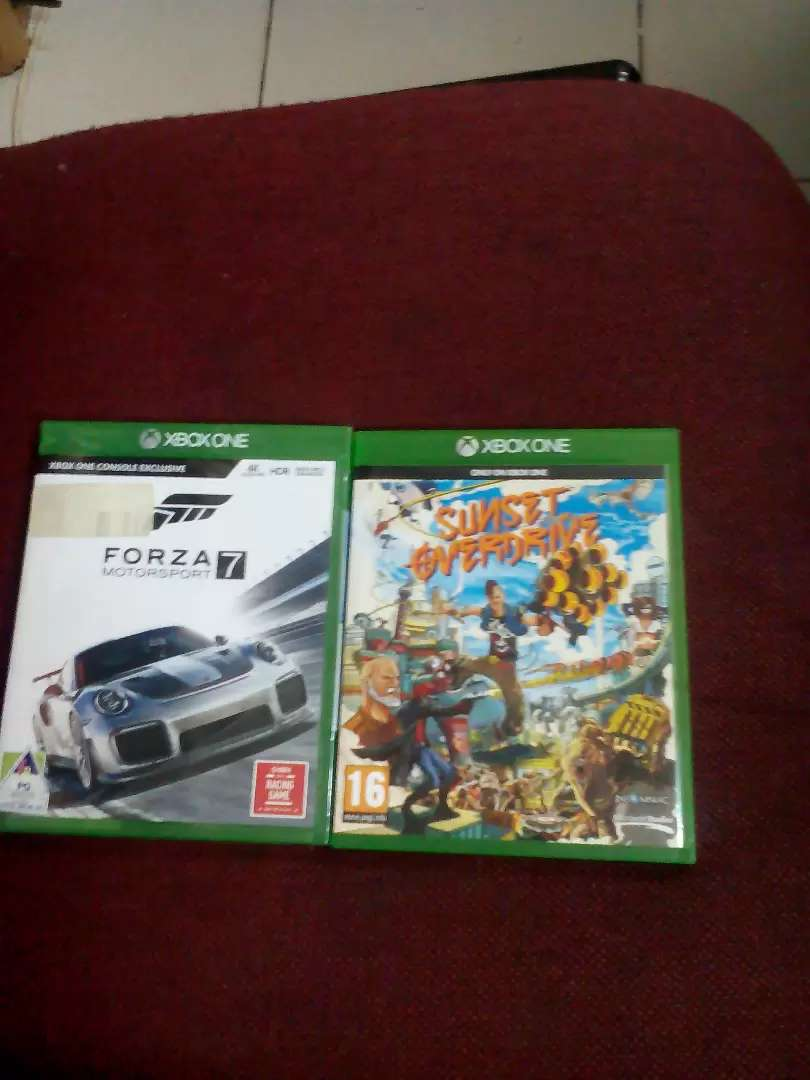 Xbox one forza7+free sun set over drive with affordable price 0