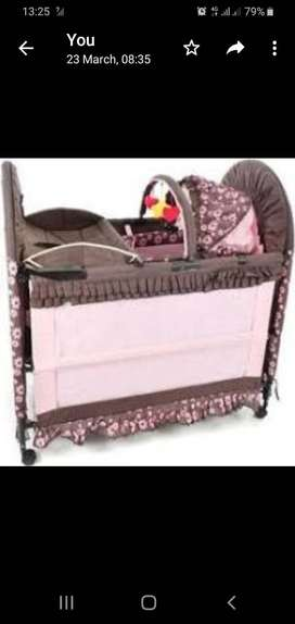 Chilino bed and cot 3 in 1