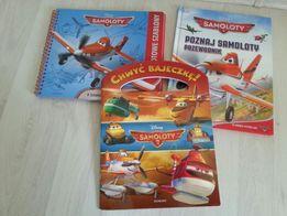 Dusty Samoloty 3 książki szablony do rysowania
