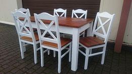 Krzesło krzyżak prowansalskie białe do restauracji masywne producent