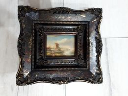 Obraz w drewnianej ramie 20x20