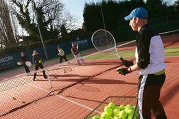 Уроки ТЕННИСА для всей семьи Тренер по теннису