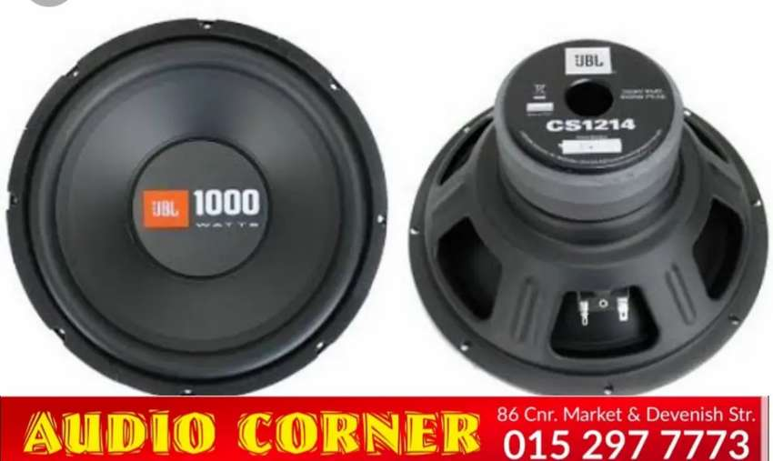 Jbl Sub 1000w new Quality Sound 0