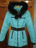 Пальто пуховик демисизонное