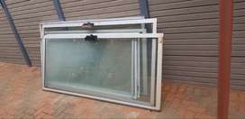 Window Frames with burglars