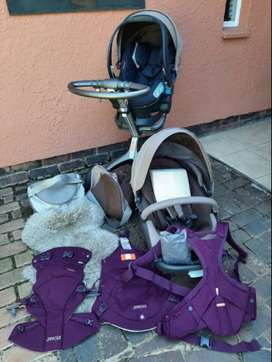 Stokke pram and accessories