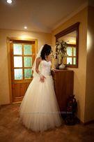 Счастливое свадебное платье айвори