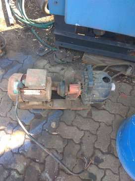Motor and pump for sale
