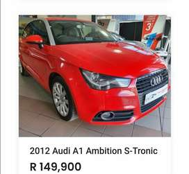 We're selling cars used and brand new