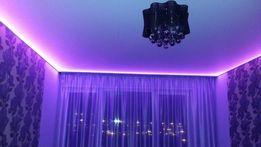 Натяжные потолки 100 грн/м2!!!Натяжной потолок на алюминиевом профиле