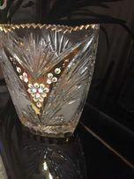 Хрустальная ваза Богемия