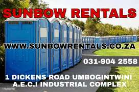 Sunbow rentals sunbow toilet hire sunbow hiring sunbow marquee
