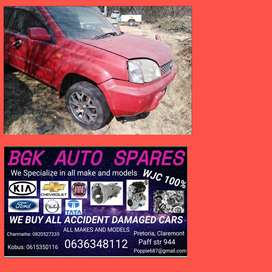 Nissan x trail stripping 4 spares call us now