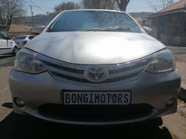 TOYOTA ETIOS SEDAN WITH SPARE KEYS IN EXCELLENT CONDITION