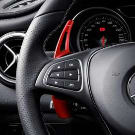 Mercedes w205 STEEL Red paddle shifters