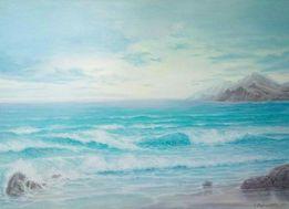 Живопись, картина, море (под заказ)