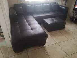 L-shaped corner couch