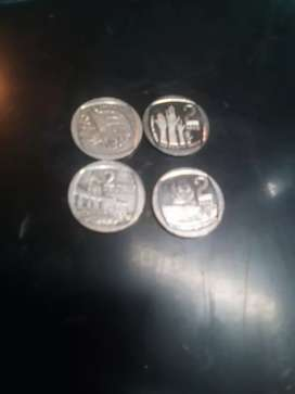 2Rands coins