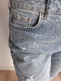 Jeansy h&m r.38