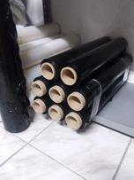 Folia stretch czarna, szer. 50 cm, rozciągliwa-Legnica