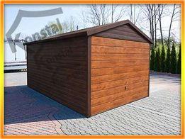 Garaż blaszany garaże blaszane 3x5 SUPERLINE - PLUS obróbki