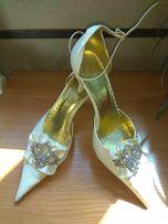 Туфли свадебные нарядные выпускные