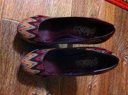 Бомбезные женские туфли Plato