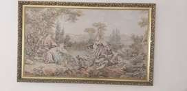Tapestry Picture in frame