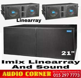 Imix Linearray Combo Brand new Stage sound