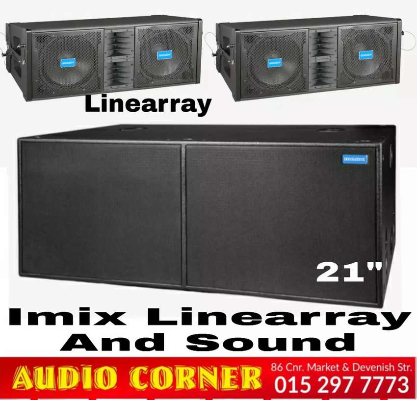 Imix Linearray Combo Brand new Stage sound 0