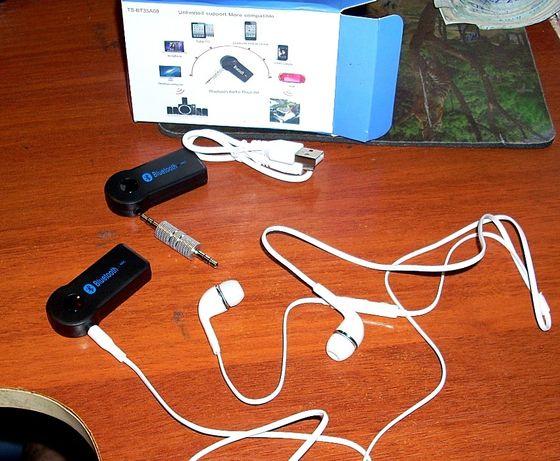 Bluetooth AUX приемник адаптер блютуз гарнитура беспроводые наушники Кривой Рог - изображение 5
