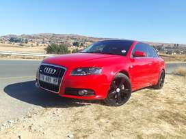 Red A4 audi 2.0 T D-line good condition used car