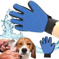 Перчатка антишерсть True Touch для вычесывания шерсти животных Тру Тач