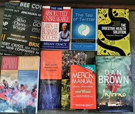 Books for Sale R80 each (Available in Nelspruit)