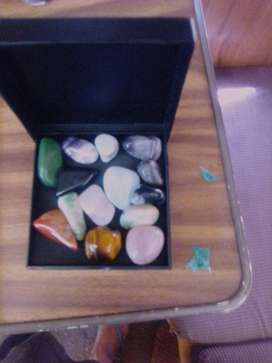 Semi precious stones and clear crystals for sale