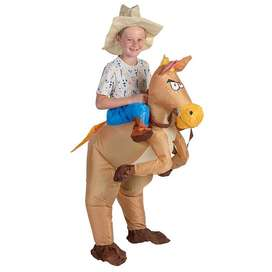 Inflatable Cowboy Kids Costume